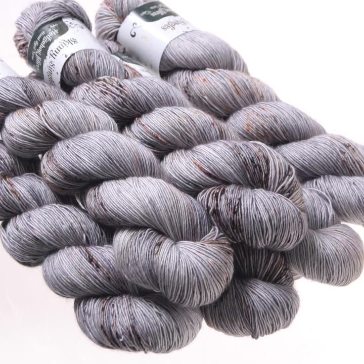 Hedgehog Fibres Hand Dyed Yarns Skinny Singles, Construct