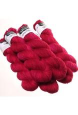 Hedgehog Fibres Hand Dyed Yarns Skinny Singles, Merlot