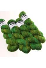Hedgehog Fibres Hand Dyed Yarns Skinny Singles, Swamp