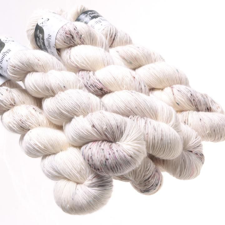 Hedgehog Fibres Hand Dyed Yarns Skinny Singles, Urchin