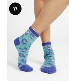Wool and the Gang Regia & Wool and the Gang, Kinda Magic Socks, Feline Good Green Color 6459