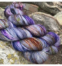 Hedgehog Fibres Hand Dyed Yarns Skinny Singles, Bundo - An FYS Exclusive
