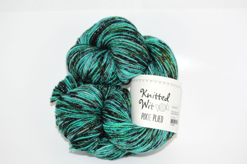 Knitted Wit Pixie Plied, American Samoa National Park