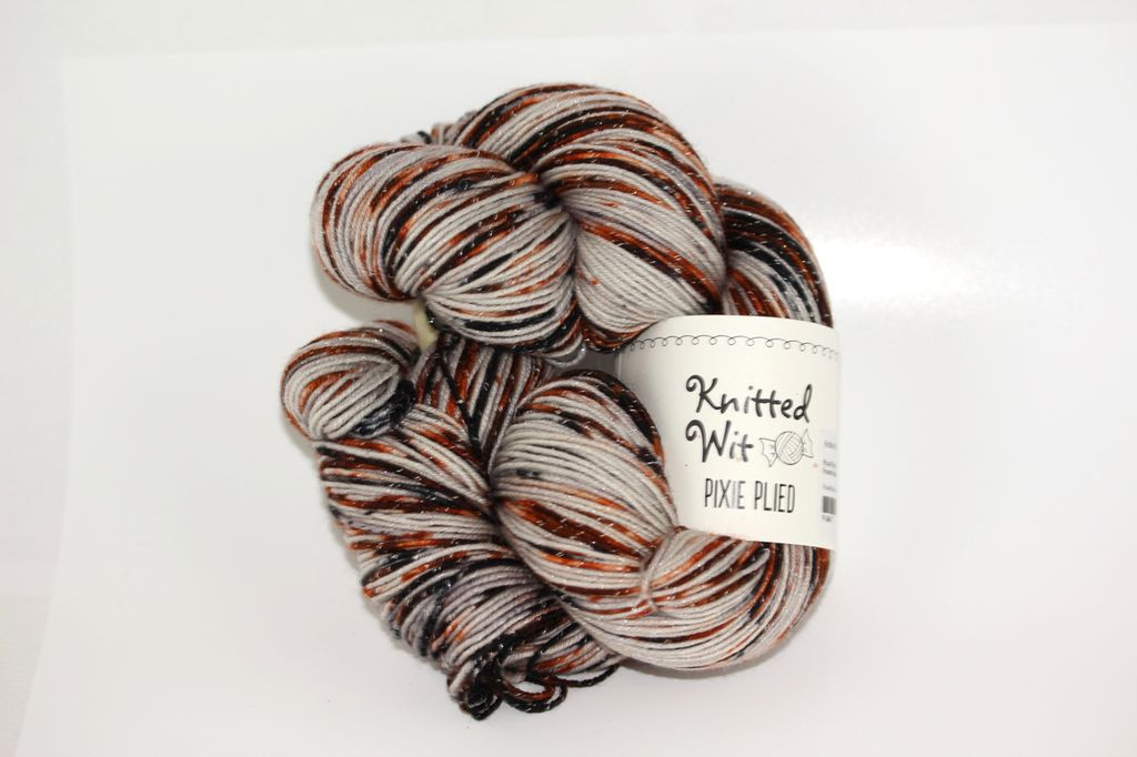 Knitted Wit Pixie Plied, Petrified Forest National Park