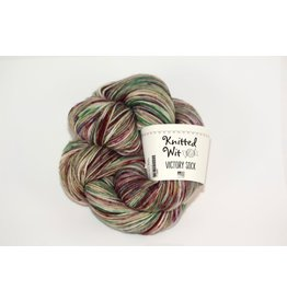 Knitted Wit Sock, Bloom Where You're Planted