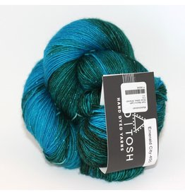 Madelinetosh Tosh Merino Light - Silver Glitter, Emerald City (Retired)