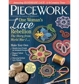 Interweave Piecework, May June 2018