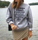 OKAYOK Muskoka Lakes Crewneck Sweater