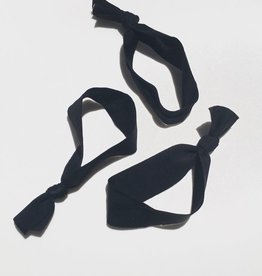 TWB co. Hair Ties — CLASSIC Black