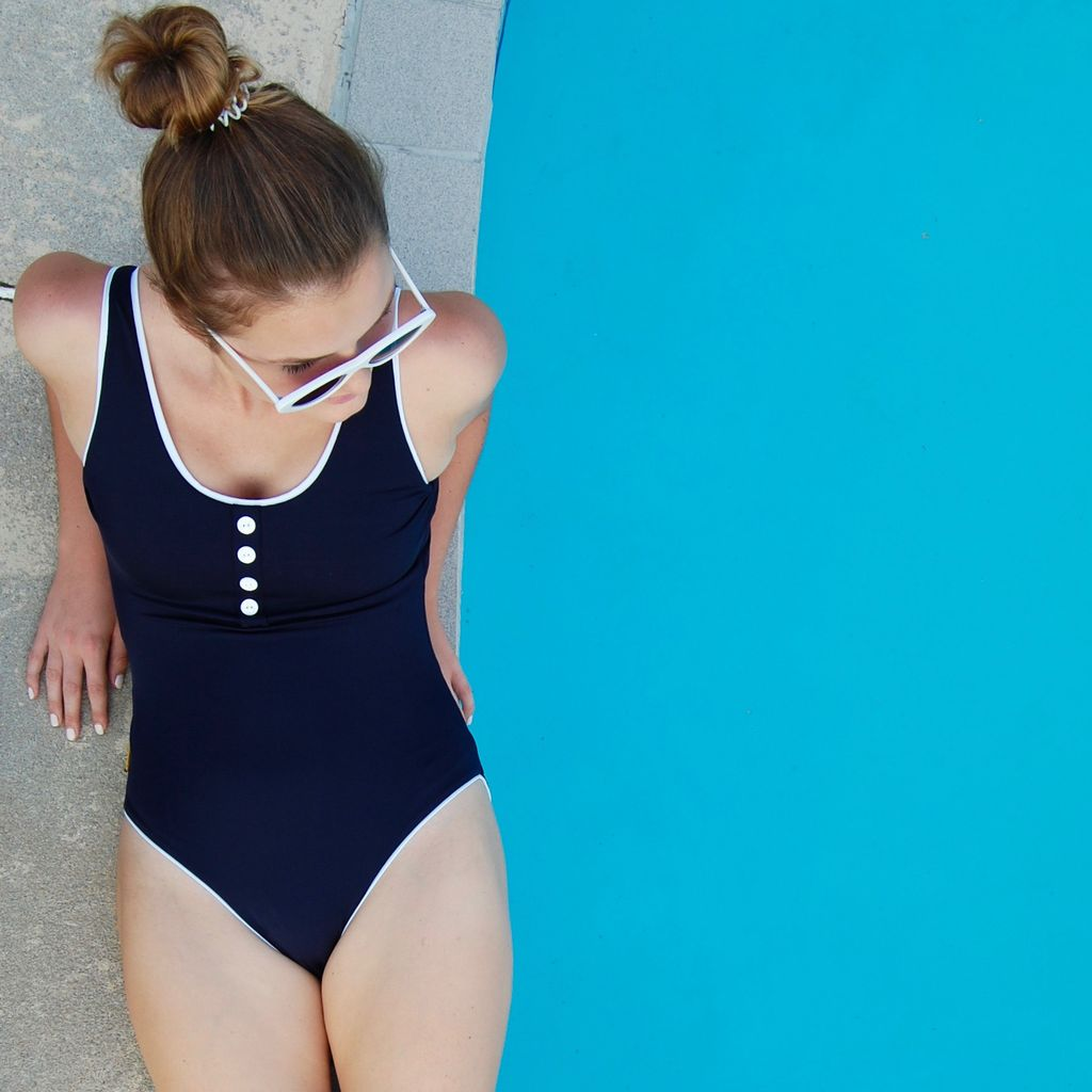 Twb Collection The Laps Suit in Navy – LAPS