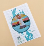 Rosseau Patch with Muskoka Lakes Postcard