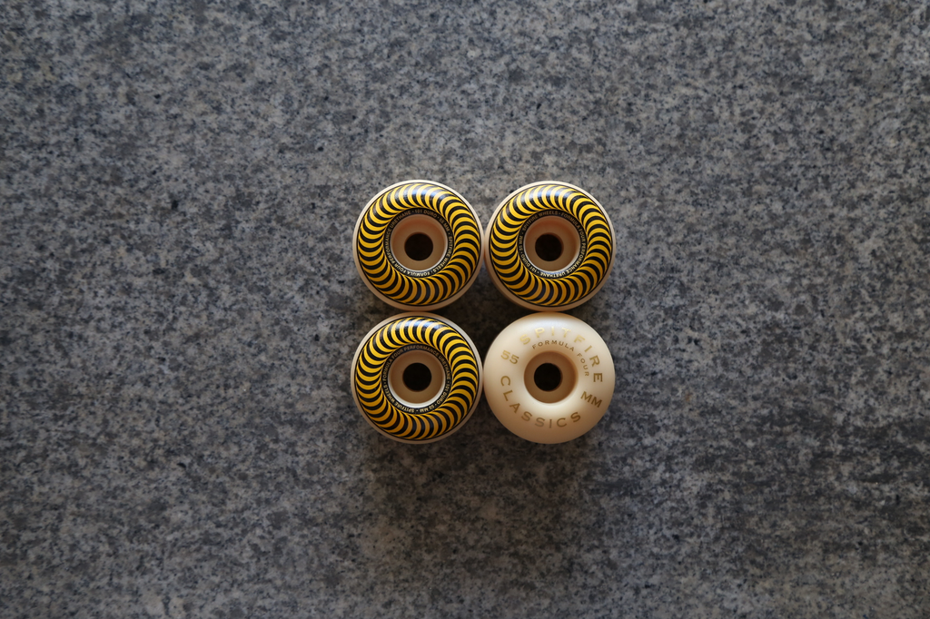 Spitfire F4 Classic Wheels 55mm