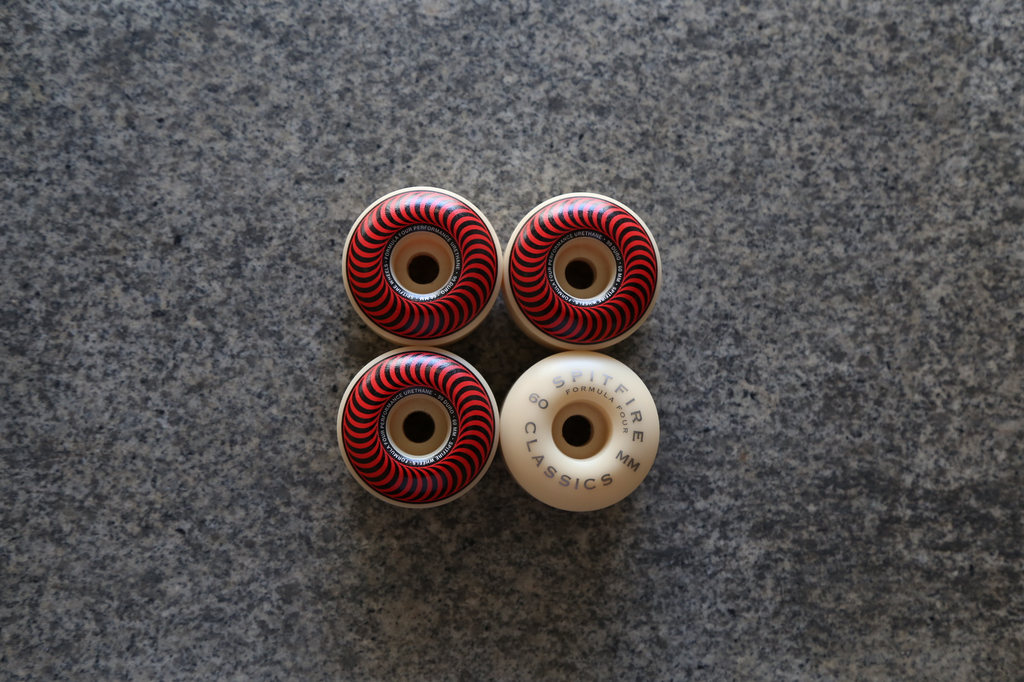 Spitfire F4 Classic Wheels  60mm