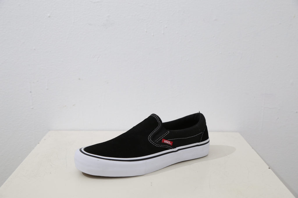 Vans Slip On Pro Shoe - Blk/Wht