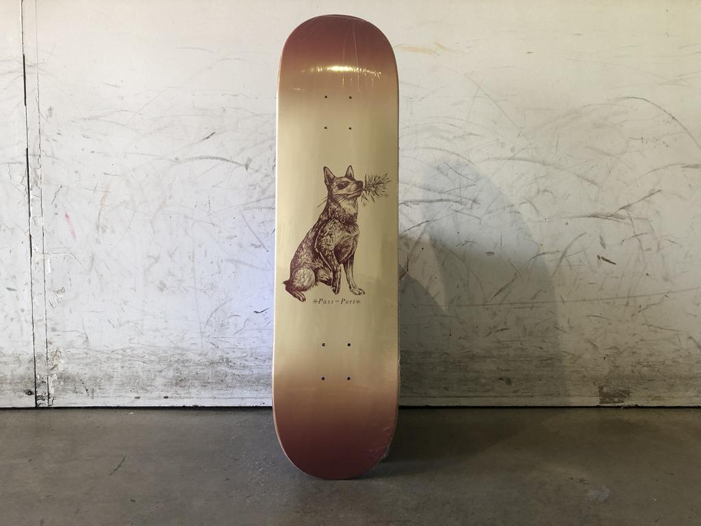 Passport Skateboard 8.25 -Doggos