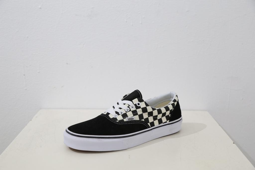 Vans Era Classic Shoe - Primary Check Blk/Wht