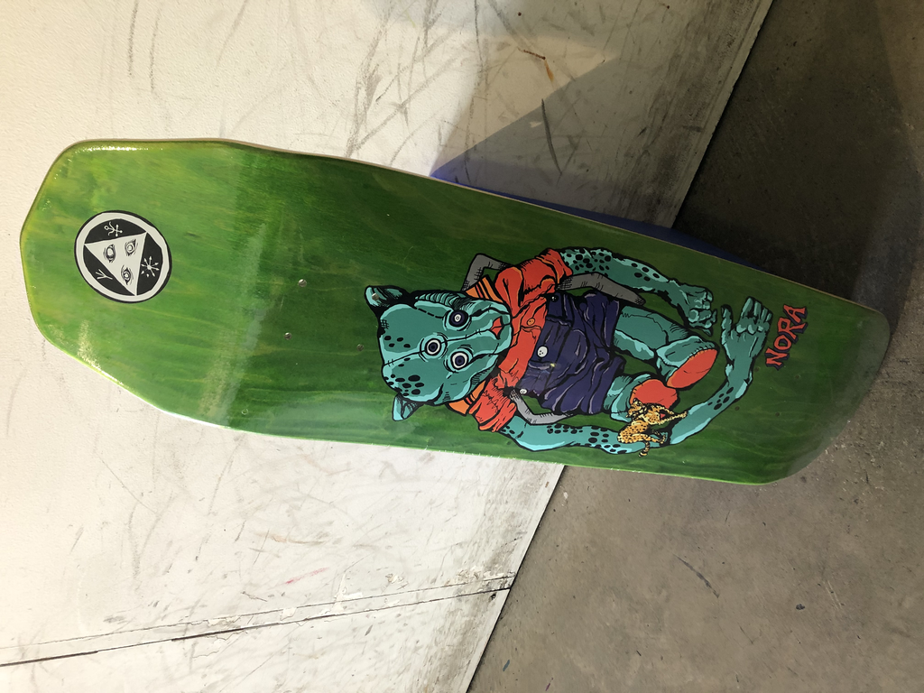 Welcome Skateboard Nora 8.6 - Teddy on a Wicked Queen