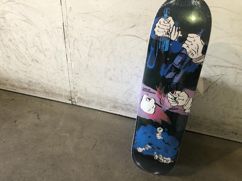 Polar Skateboard 8.25 slick - night bender