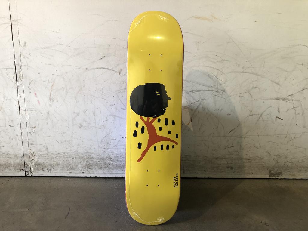 Polar Skateboard 8 - Dane Brady Big Head Yellow
