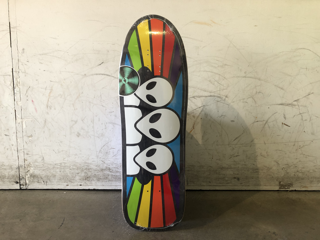 Alien Workshop Skateboard 9.6 - Old School Spectrum