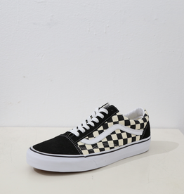 Vans Old Skool Classic Shoe - Primary Check Blk/Wht