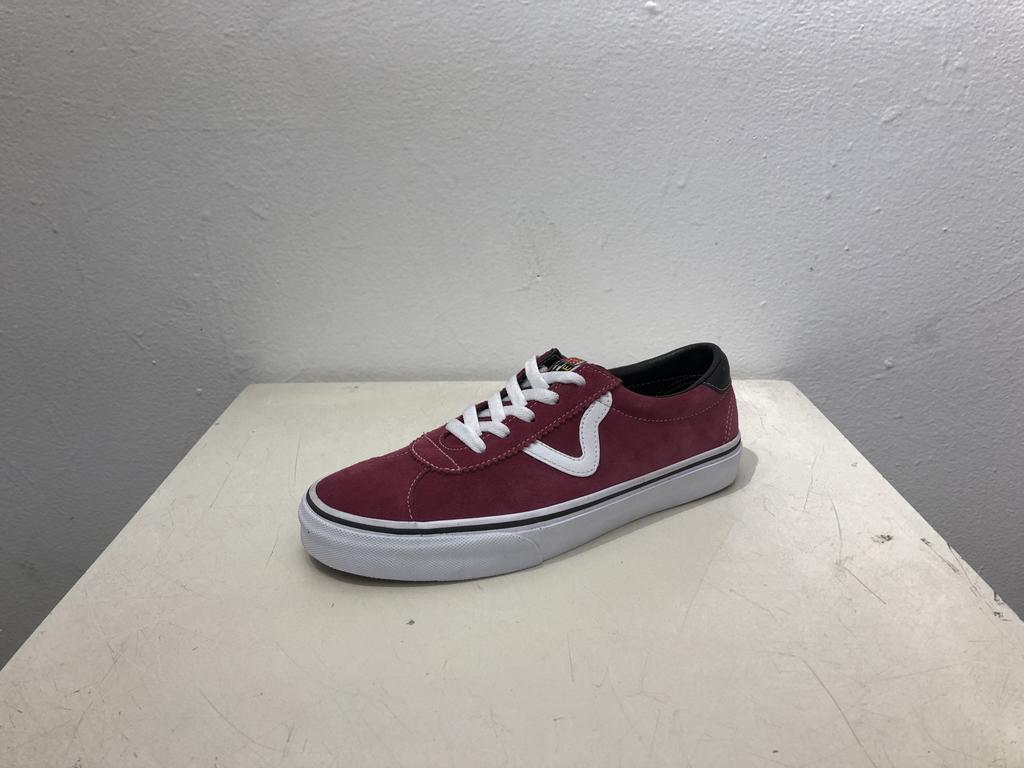Vans Sport Classic Shoe - Beet/Wht