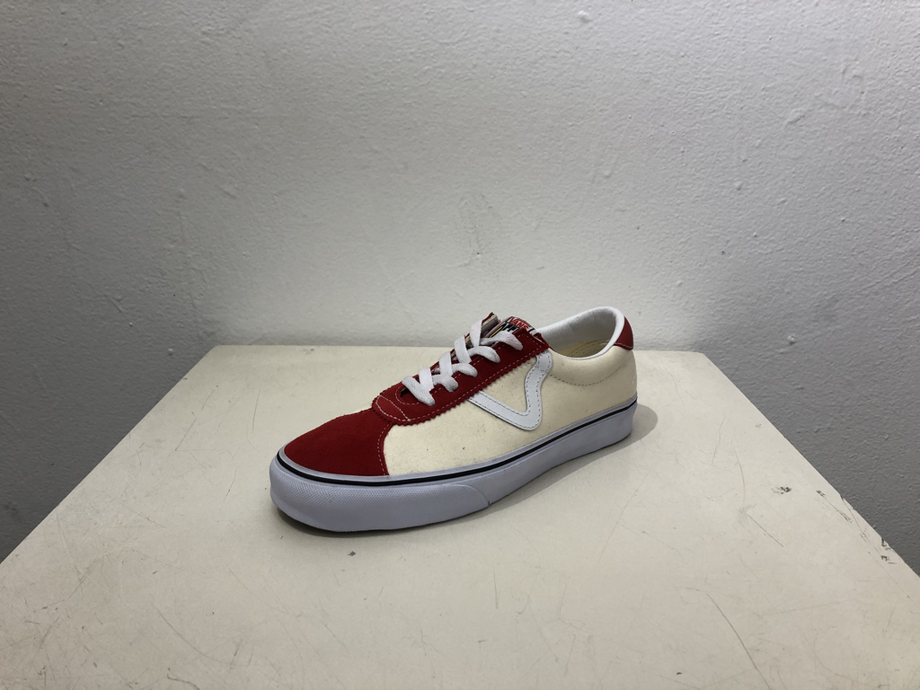 Vans Sport Classic Shoe - Red/Wht