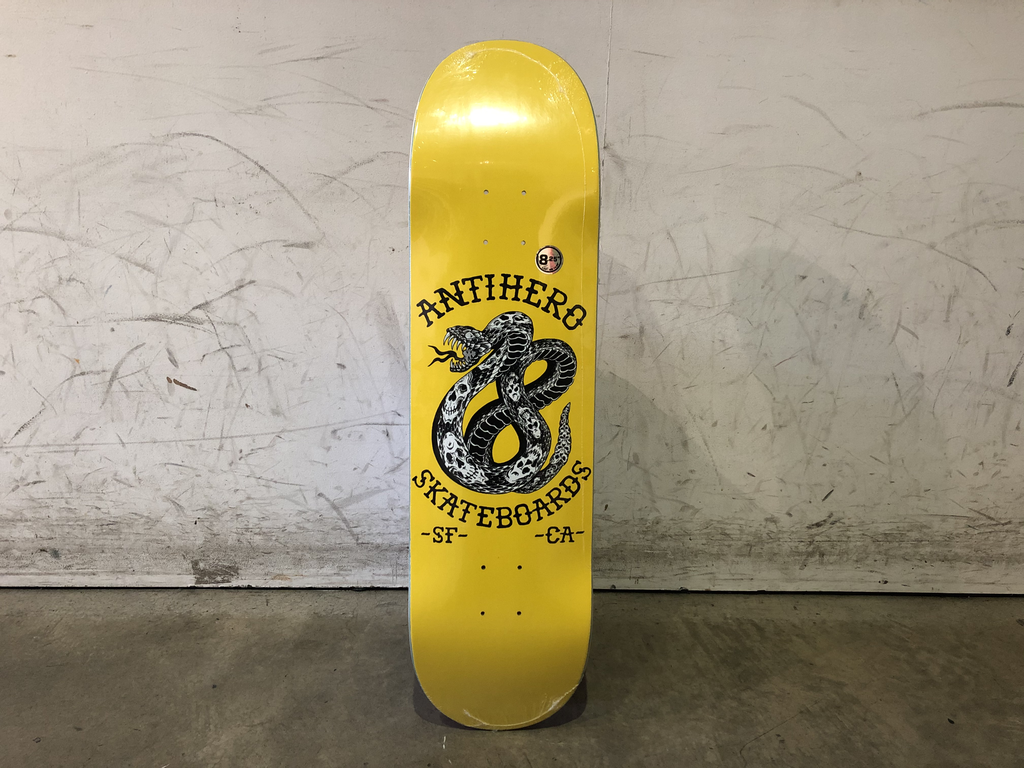 Anti Hero Skateboard 8.25 - Eighteen