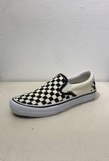 Vans Slip On Pro Shoe - Checkers Blk/Wht