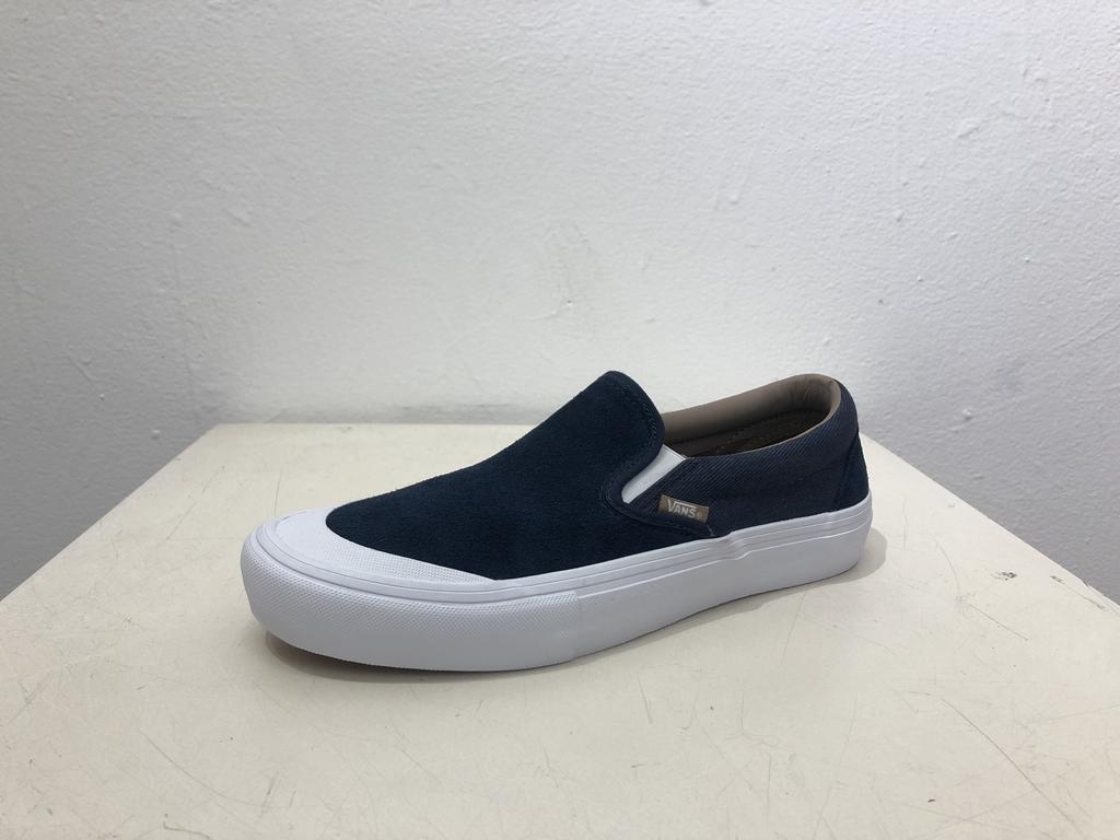 Vans Slip On Pro Shoe - Navy/Twill
