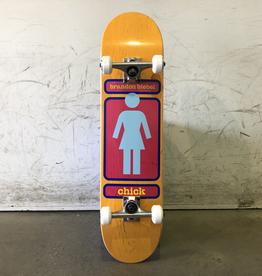 Girl Complete Skateboard 7.625 - 93 Biebel
