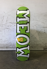 Meow Skateboard 7.5 - Green Mini Logo