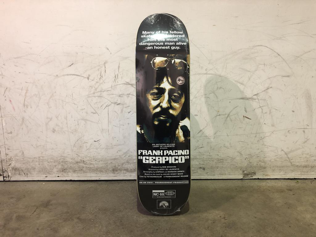 Anti Hero Skateboard 8.25 - Drive In Gerwer