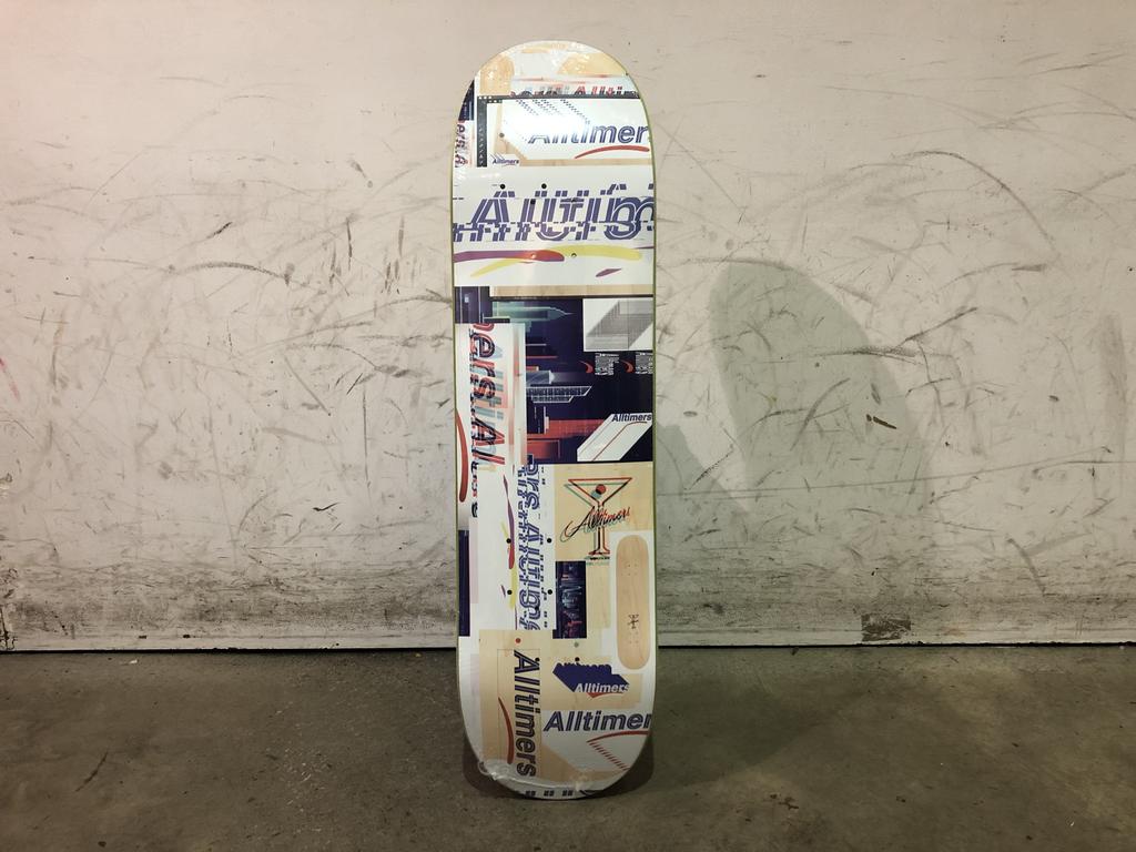 Alltimers Skateboard 8.25 - Glitch