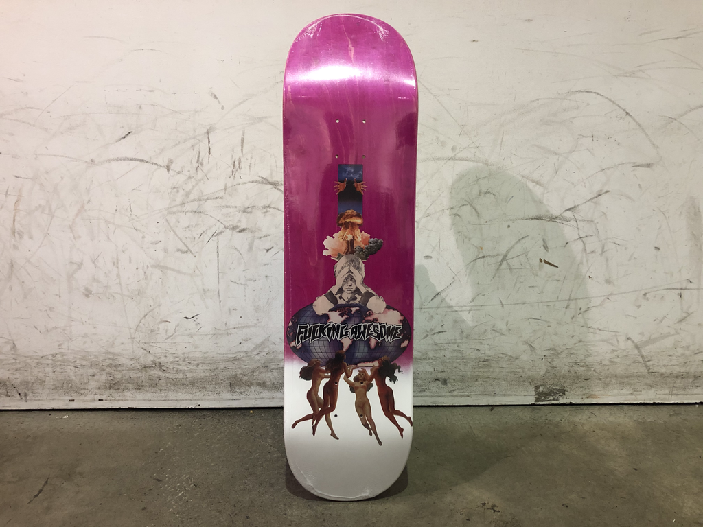 Fucking Awesome Skateboard 8.25 - Berle Dipped Tail