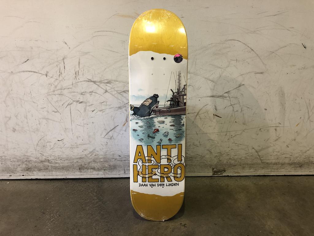 Anti Hero Skateboard 8.18 - Daan Plastics