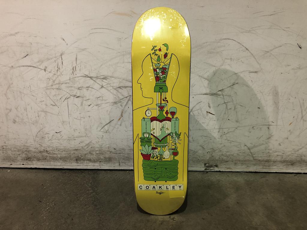 Traffic Skateboard 8.38 - Coakley Body Lab