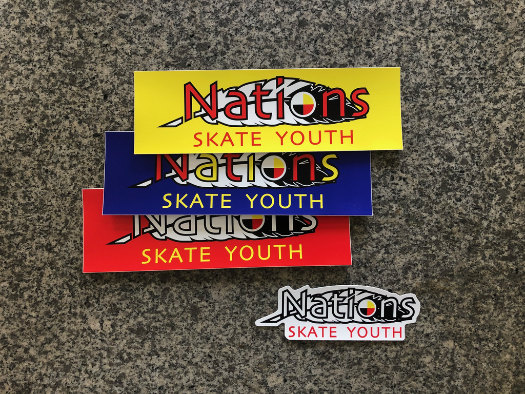 Nations Fundraiser Sticker Pack