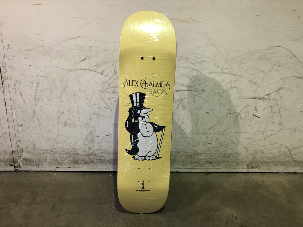 Pylon Skateboard - Alex Chalmers 8.25