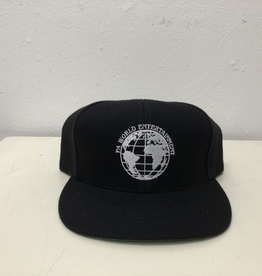 Fucking Awesome World Entertainment Hat - Black