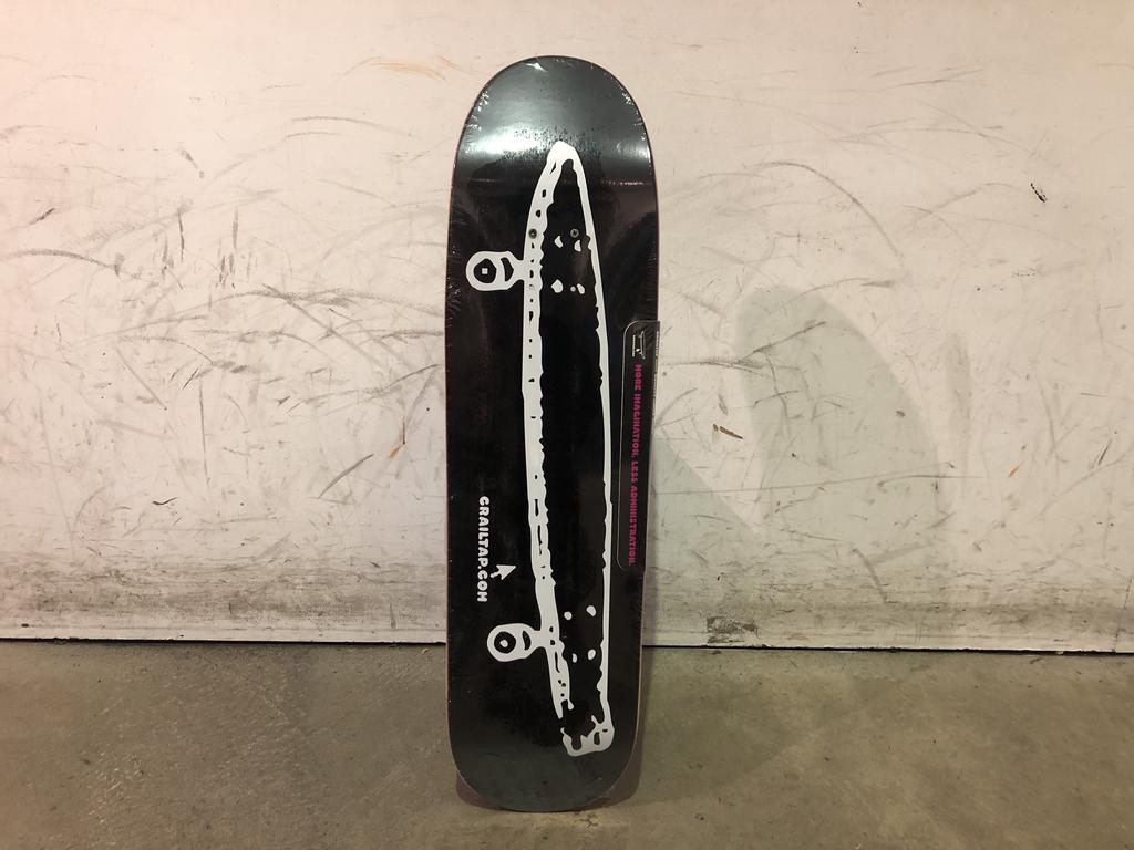 Girl Skateboard 8.5 - Crailtap Black