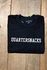 Quartersnacks Inside Out Embroidered Crew