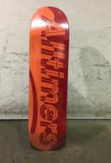 Alltimers Skateboard 8.25 - Red Wave Estate