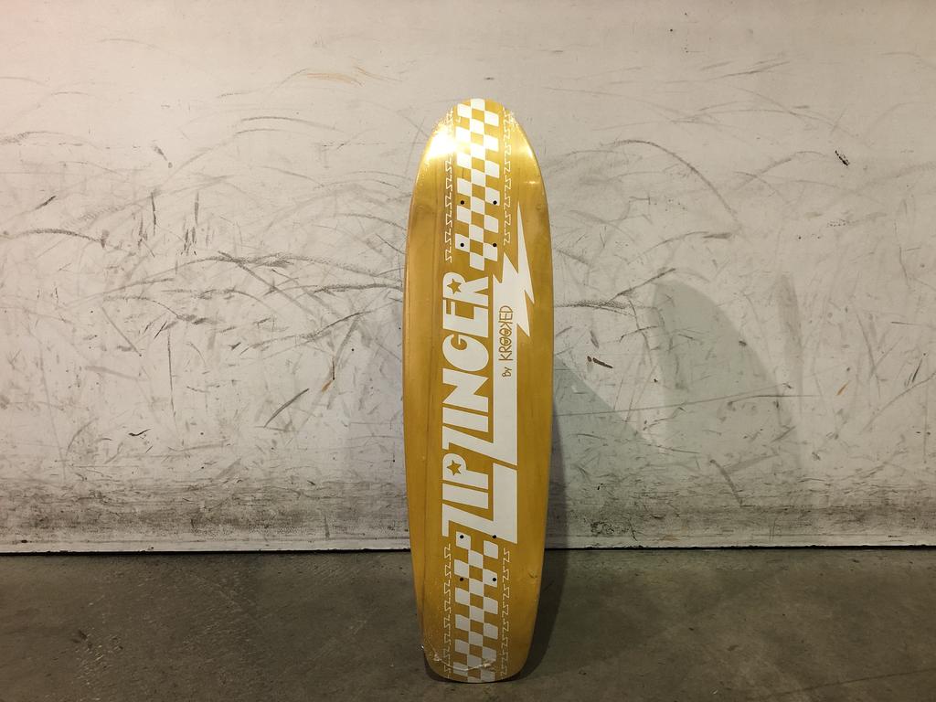 Krooked Skateboard 7.75 - Zip Zinger