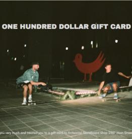 Antisocial Gift Card 100$