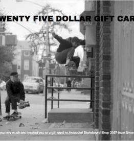 Antisocial Gift Card 25$