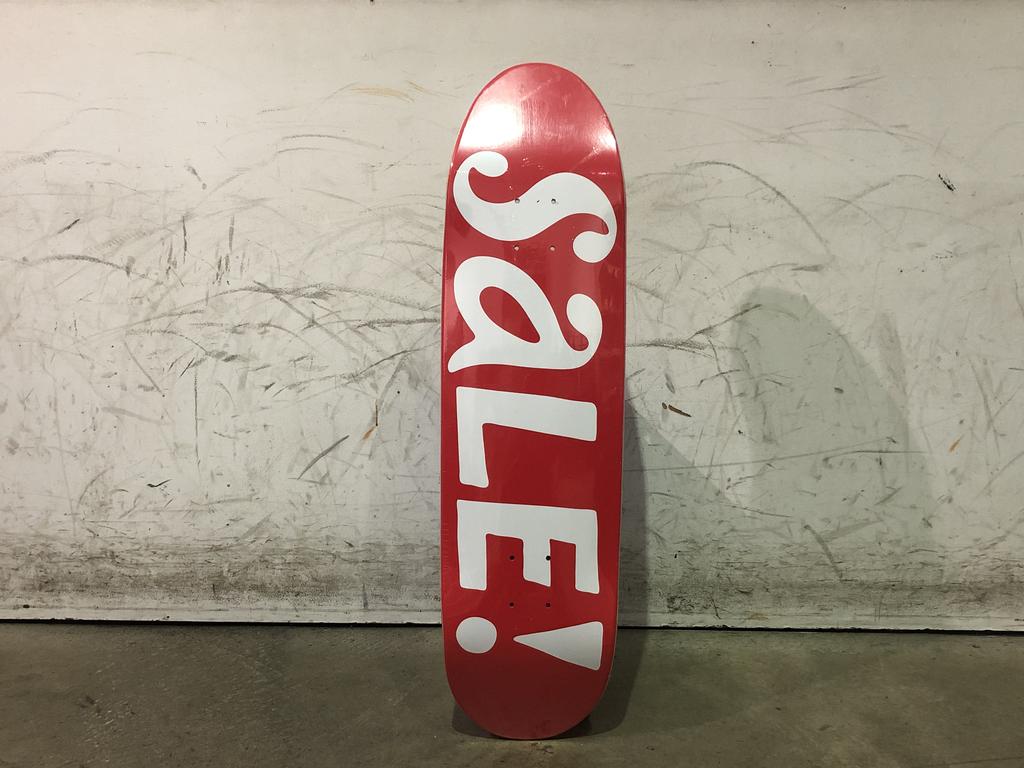 Tired Skateboard - 8.25