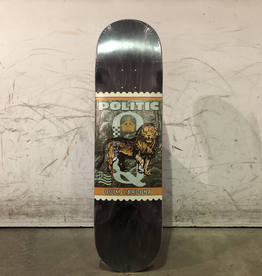 Politic Skateboard 8.38 - Cardona Stamp