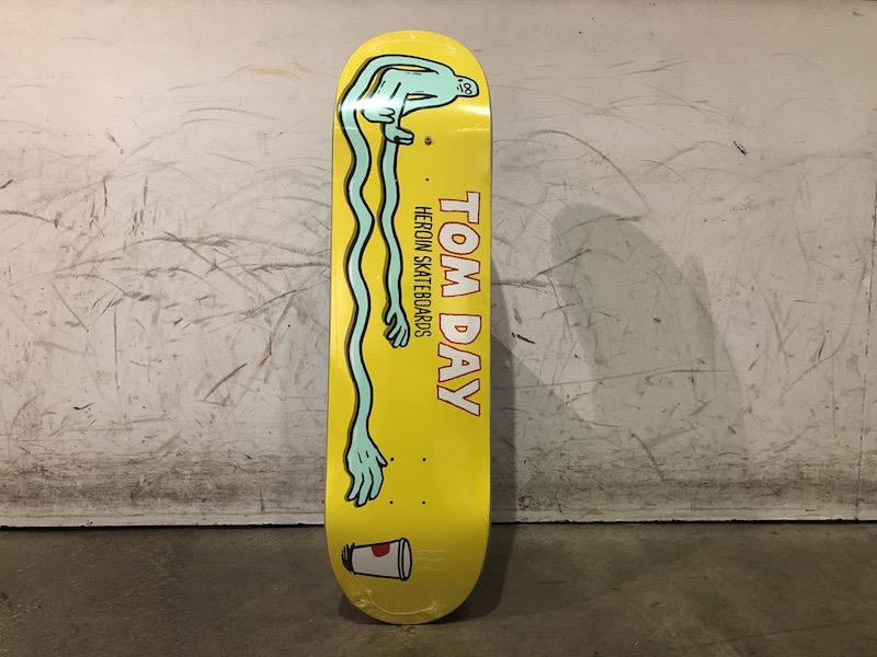 Heroin Skateboard 8.5 - Stretch Day