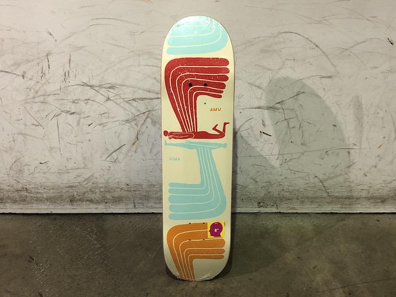 Uma Skateboard Wingwing